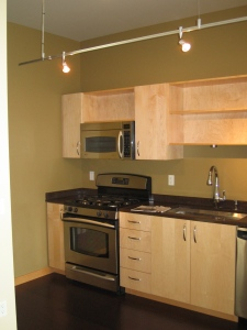 pinnacle apartment kitchen