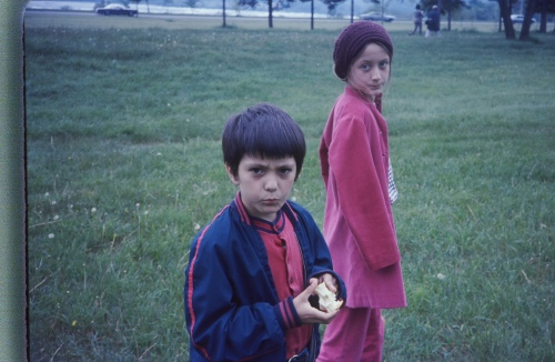 my brother and me in 1972