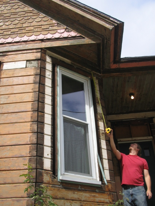 we replaced all the old windows