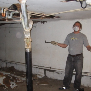 john ready to gut basement