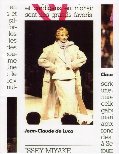 a fashion show in paris