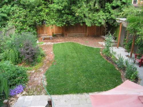 present day lawn