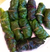my stuffed chard leaves