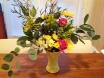 a simple flower arrangement